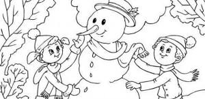 Bulgărele de zăpadă!
