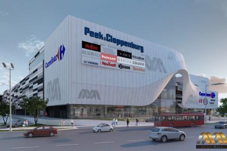 Mega Mall București – Execuție structuri metalice Luminator Atrium Sud