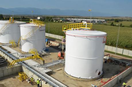 Construcție depozit de carburanți – Făgăraş Sercaia