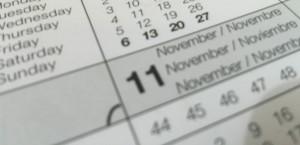 Termene de depunere a declaraţiilor fiscale în luna NOIEMBRIE 2015